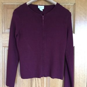 Loft sweater zip up